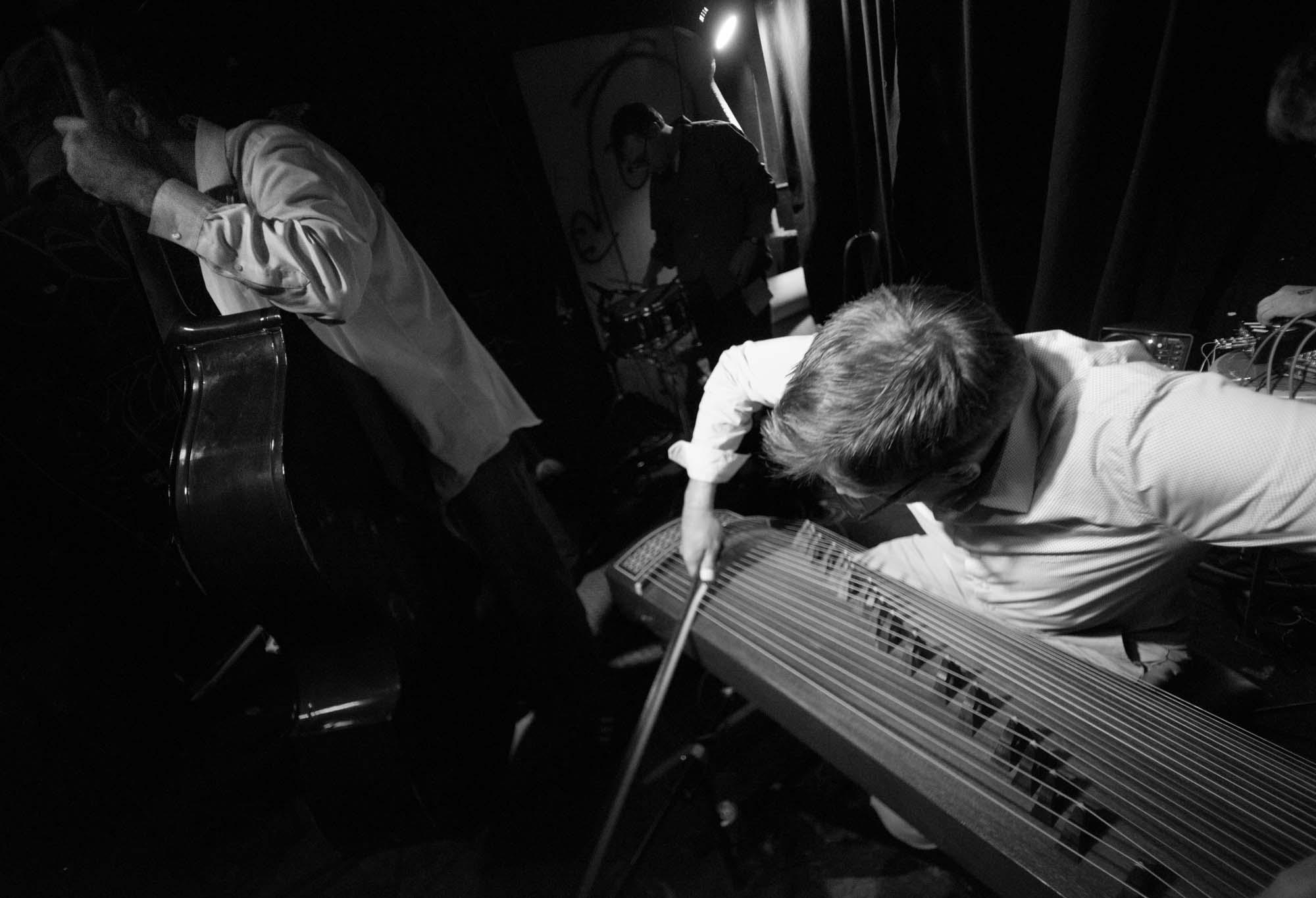 Trepanning Trio: David Mansbach, Kris Morron, Joel Elvery